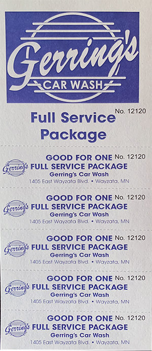 Full Service Package
